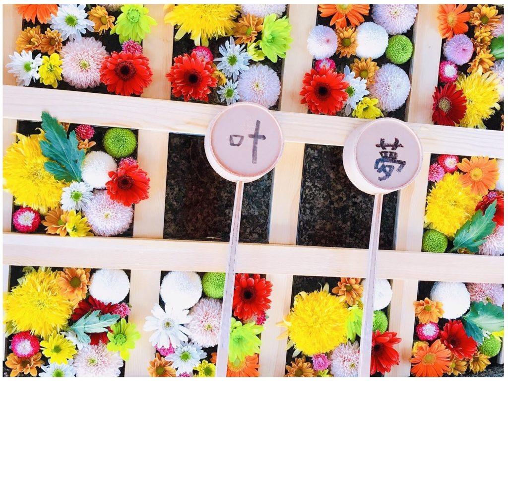 9月7~16日迄、手水舎を菊の花で彩ります。沢山のご参拝をお待ちしております。